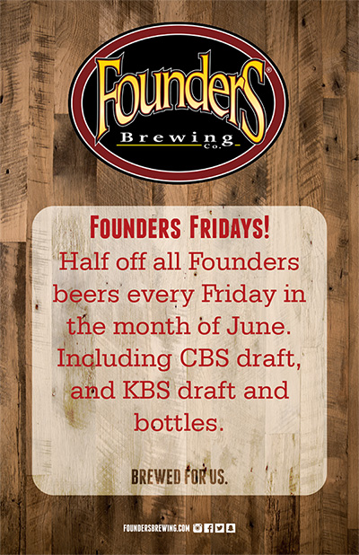 Founders Fridays at Red Rock Barbecue