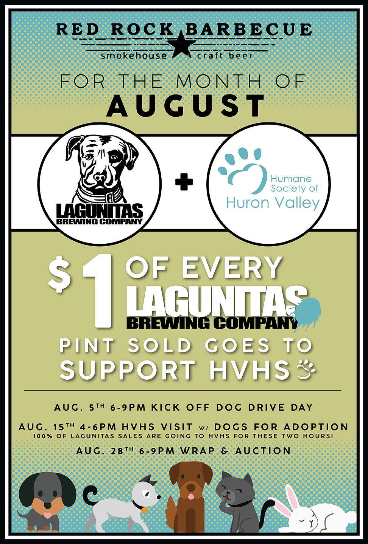 Lagunitas + Huron Valley Humane Society