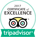 2017 TripAdvisor Certificate of Excellence - Red Rock Downtown Barbecue